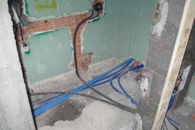 impianto idrico miscelatore doccia