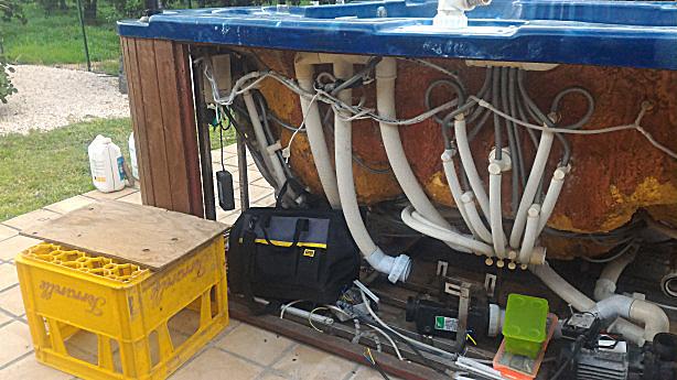 pompa vasca idromassaggio