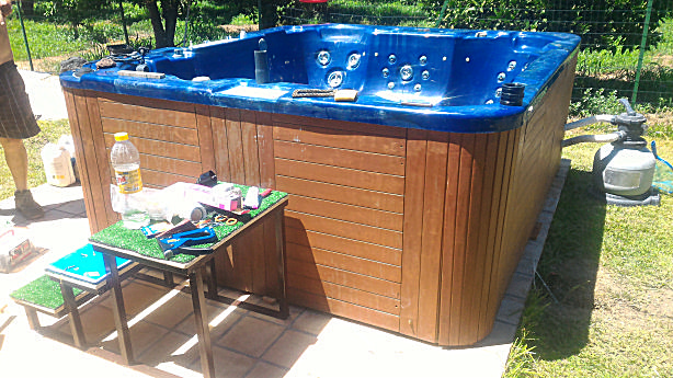 vasca idromassaggio completa